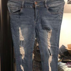 Medium washed jeans